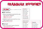 Student's Book: Grammar Reference sample pages